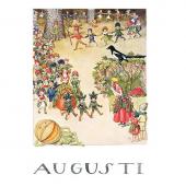 Postkaart Augustus (Elsa Beskow)