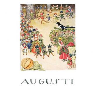 Poster August (Elsa Beskow)