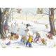 Postcard  Winter games (Molly Brett)