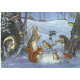 Postkaart Christmas Carols (Molly Brett) 187