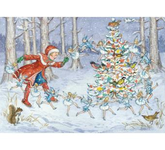 Postcard  The Snow Fairies  (Molly Brett)