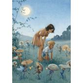 Postkaart Under the mistletoe  (Magareth Tarrant)