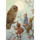 Postkaart  A Carol for Brown Owl  (Margareth Tarrant) 023