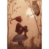 Postkaart Rainbow fairies (Margareth Tarrant)