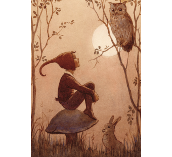 postal card The Brownie (Margareth Tarrant)