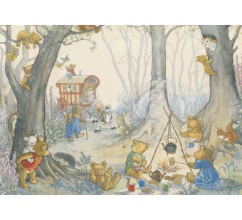Postkaart Teddy Bear Camp (Molly Brett) 041