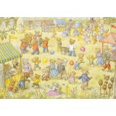 postkaart Teddy Bear Fete  (Molly Brett)