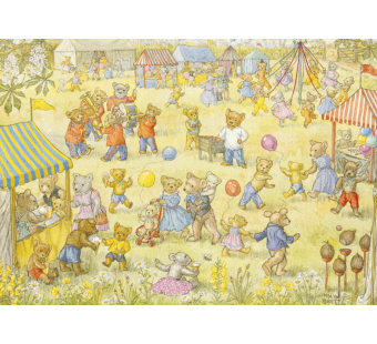 Postal card Teddy Bear Fete  (Molly Brett)
