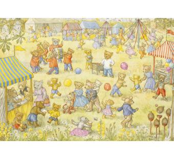 postkaart Teddy Bear Fete  (Molly Brett) 054