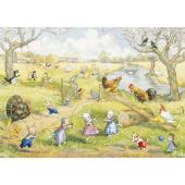 Postcard Springtime on the fair (Molly Brett)