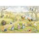 Postcard Springtime on the farm (Molly Brett)