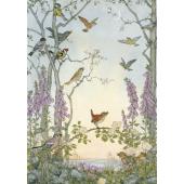 postkaart Dawn Chorus (Molly Brett)