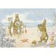 Postcard quite still please Rabbit taking famuily photo at seaside  (Molly Brett)