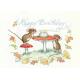 Postcard   Happy birthday Mice (Molly Brett)