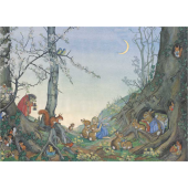 Postkaart Goodnight Time  (Molly Brett)