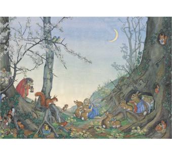 Postcard Goodnight Time (Molly Brett)