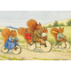 postal card  The bicycle Ride  (Margaret Tempest)