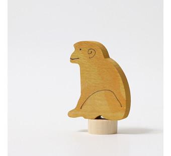 Grimms steker zittend aapje (3319)