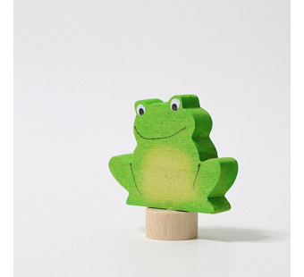 Grimms traditional figurine sitting frog (3322)