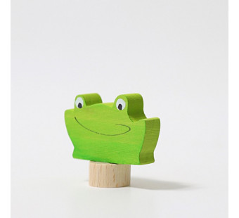 Grimms traditional figurine frog face (3323)