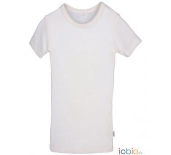 Iobio Popolini wool/silk tshirt natural