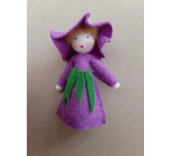 Seasonal doll Purple Morning Glory