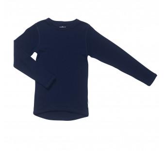 Joha merino woolen shirt navy (16341)