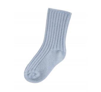 Joha greyblue woolen socks 90% wool