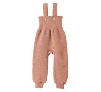 Disana woolen knitted trouwsers rose