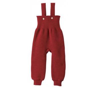 Disana woolen knitted trouwsers bordeaux
