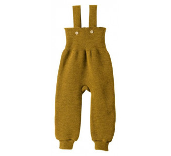 Disana woolen knitted trouwsers gold
