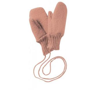 Disana boiled woolen gloves rose