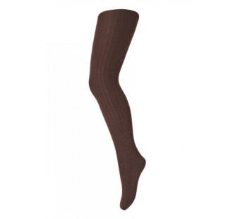 MP Denmark woolen stocking dark brown (128-541)