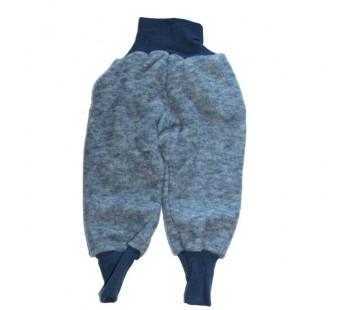 Cosilana pants woolcottonfleece navy (48925)