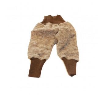 Cosilana pants woolcottonfleece brown (48925)