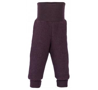 Engel woolfleece pants Lilac Melange