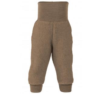 Engel woolfleece pants Walnut Melange