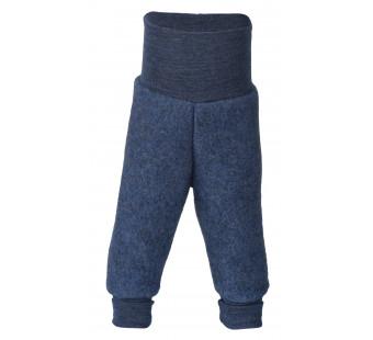Engel woolfleece pants Blue Melange