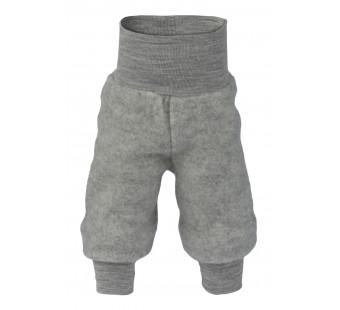 Engel woolfleece pants Light grey melange