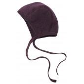 Engel woolfleece bonnet lilac melange