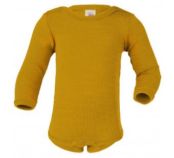 Engel wool silk body saffron