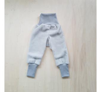 Cosilana pants woolcottonfleece soft grey (48925)