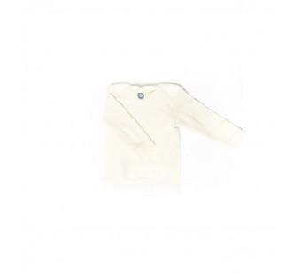 Cosilana tshirt lange mouw  wol/zijde/katoen naturel (91033)