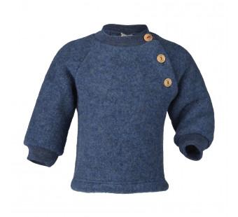 Engel woolfleece sweater blue