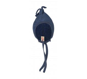 Engel woolfleece hat blue