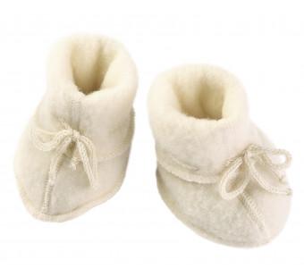 Engel woolfleece booties Natural