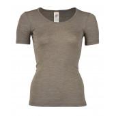 Engel wool silk short sleeved shirt atlantic