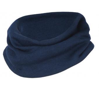 Engel wool silk scarf Navy