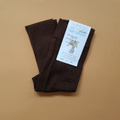 Grodo stockings chocolade brown 75% wool