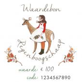 Waardebon €100 voor Regenboogschaap (digitaal)